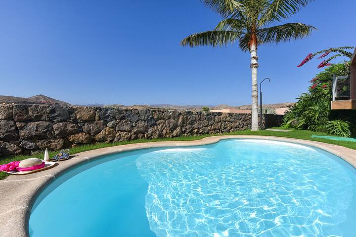 Luxurious Villa in Canary Islands with Swimming Pool