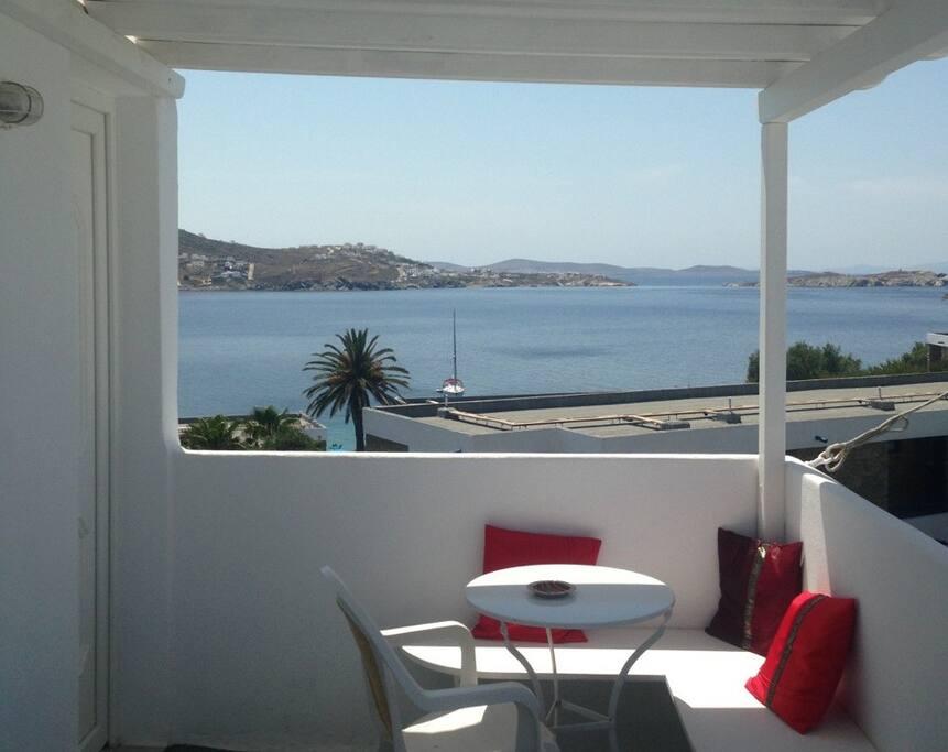 Close to the little venice with the best sea view for Indipendenza del piano di cabina del mare