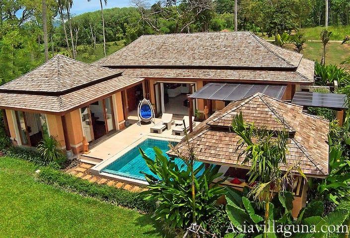 New Deluxe Pool Villa EVA - Ko Yao Noi - Casa