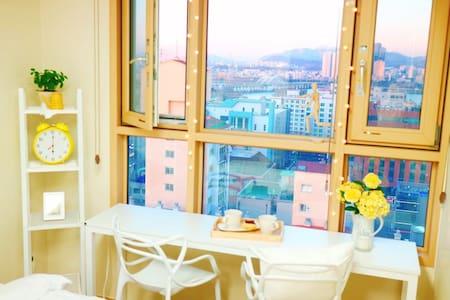 [New] Hongdae(홍대,4min), Han River, Gangnam (15min) - Yeongdeungpo-gu - Appartamento