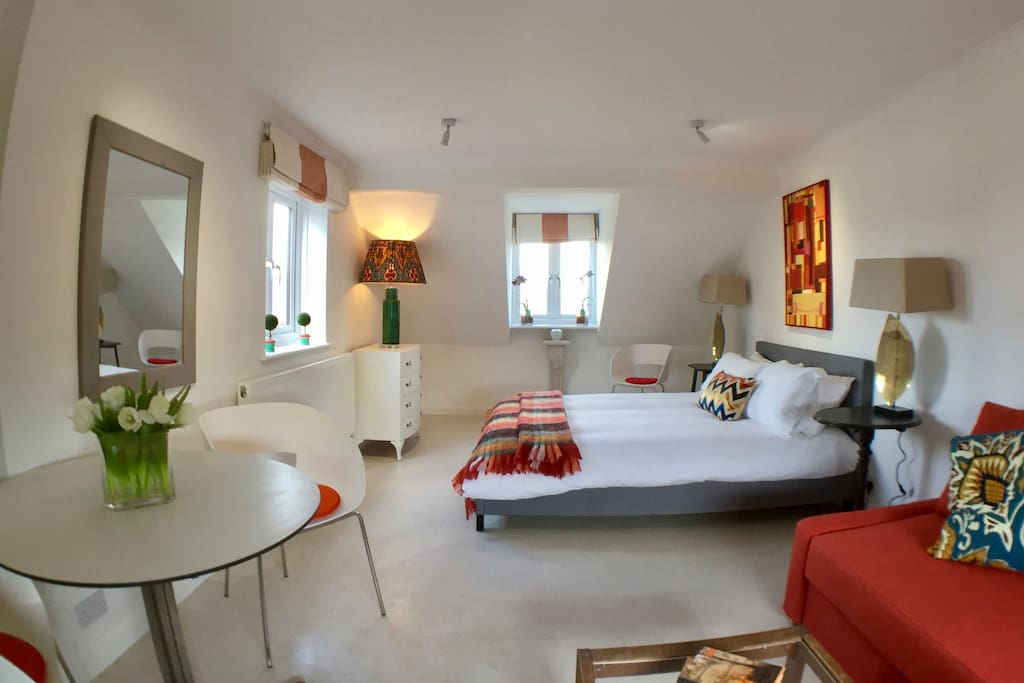 Room 1, the spacious master suite
