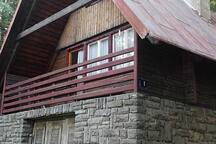 Mountain cottage 700 m for 19 Eur + Help X 2 hours