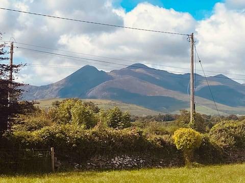 Impresionantes vistas a la montaña cerca de Killarney