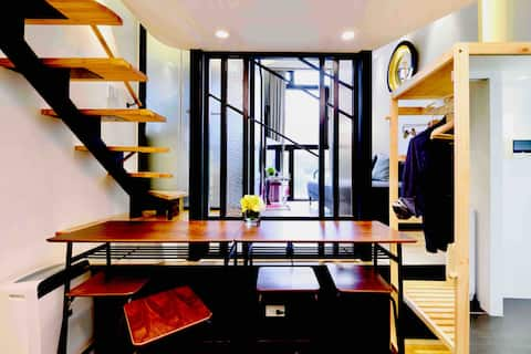 Oasis101 Apartment (5-min → @CityHall MRT @TPE101)