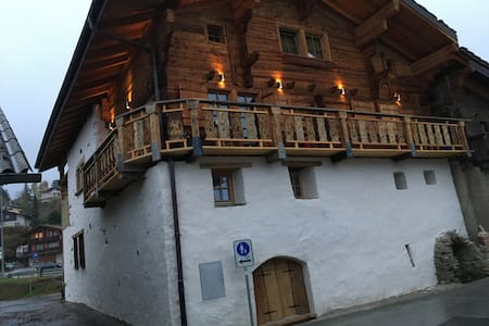 Atypical appartment on a 17th century building