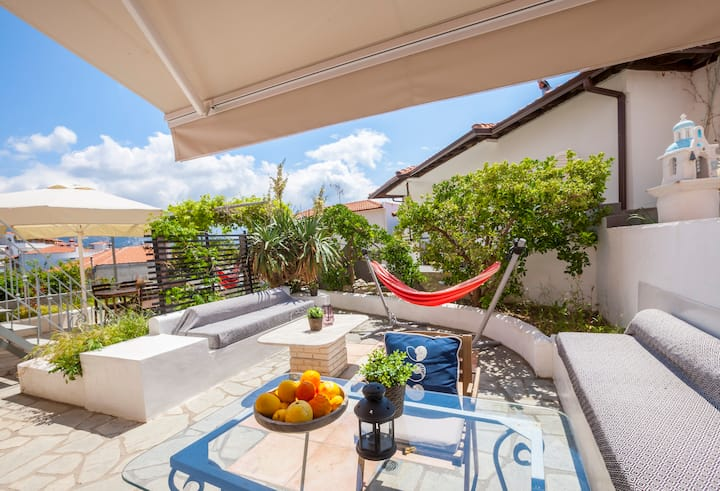 Alterra Vita: Cozy studio with garden (sleeps 4)