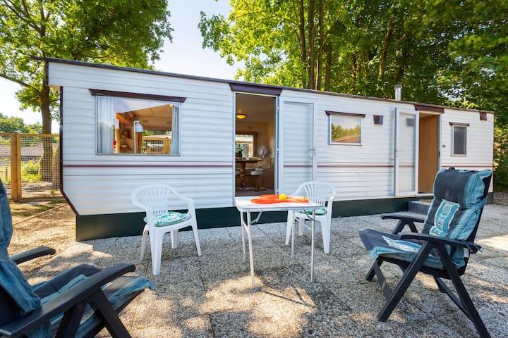Comfortabel vakantiehuis in Garderen met uitzicht over de bosrand en landerijen