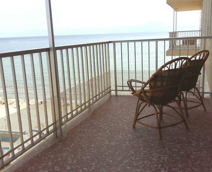 Espectacular apartamento en la playa