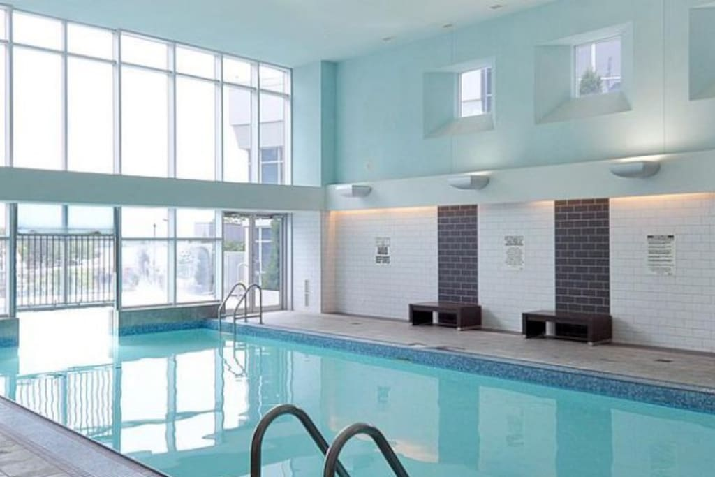 Indoor pool open from 6am - 10pm