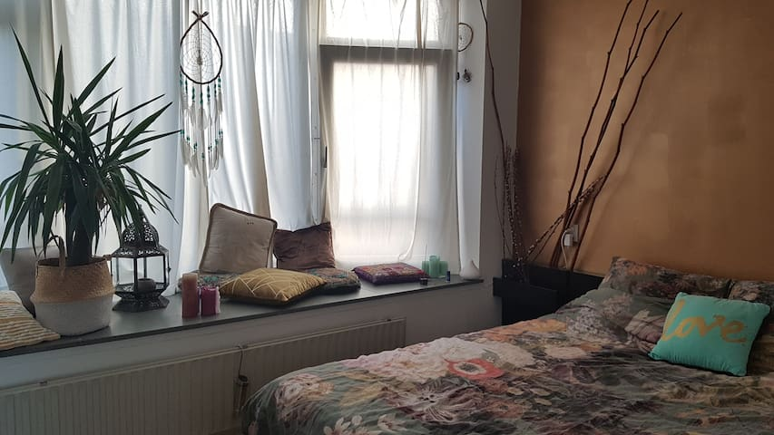 Private room near city centre