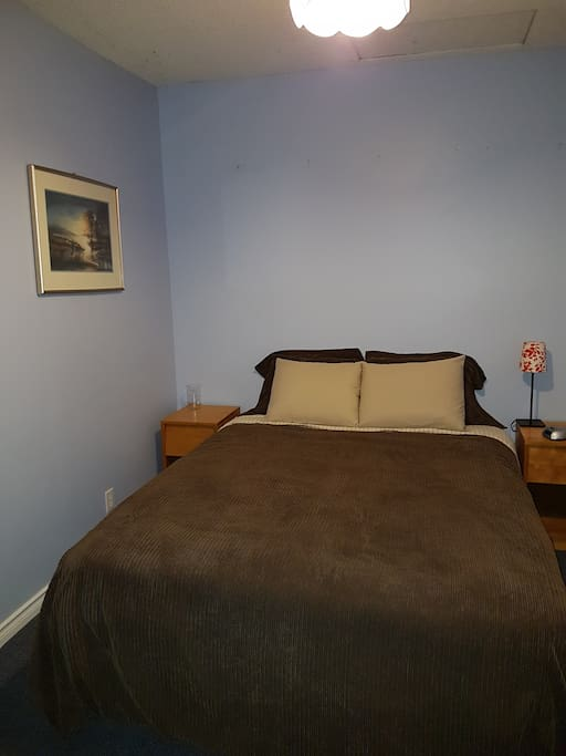 Double Bed for Rest or Relaxation!