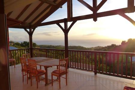 Villa T3 vue mer caraibe - Le Carbet