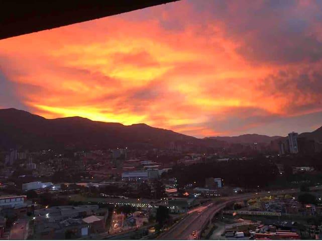 Amazing view close to METRO Medellín sabaneta