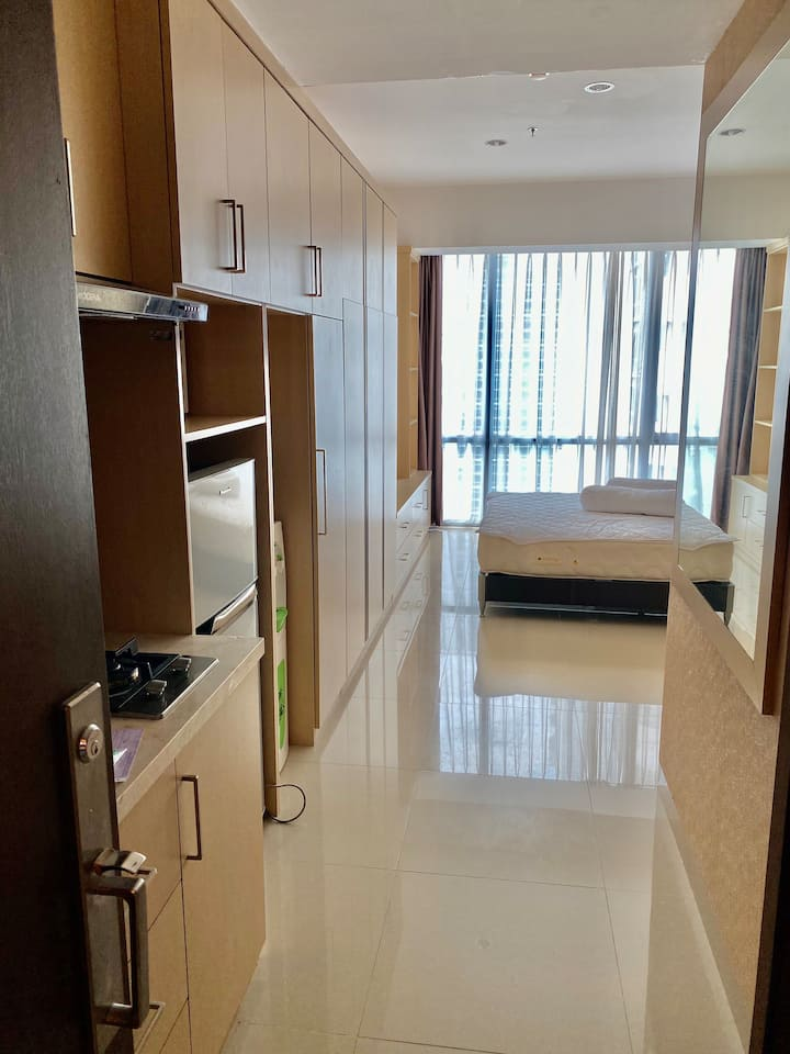 U Residence Studio Karawaci, Above Mall, cheap