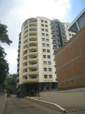 External view of building