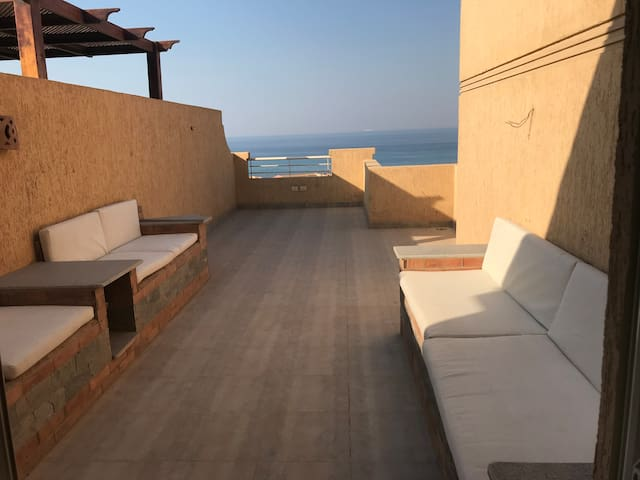 Duplex chalet at telal elsokhna with sea view