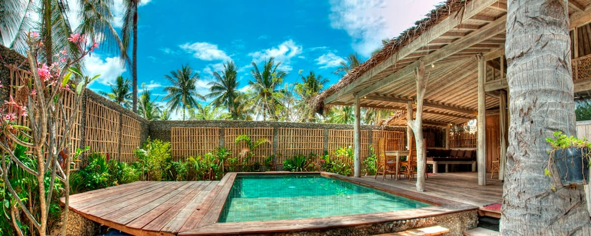 PROMO! Amazing Villa 1 BD in Gili Trawangan