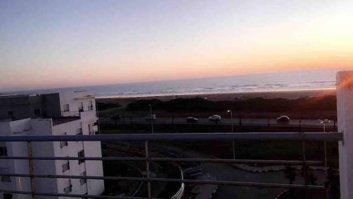 Appartement Tanger Beach vue sur mers