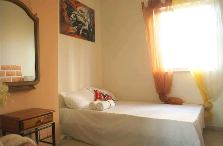 Room in center, near Akropolis.