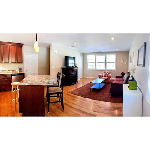 Your warm home in Lexington,Boston,walk to town! - Lexington - Wohnung