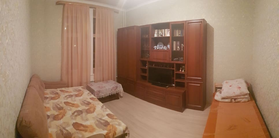 Triple room in the double-room flat MoscowCentre