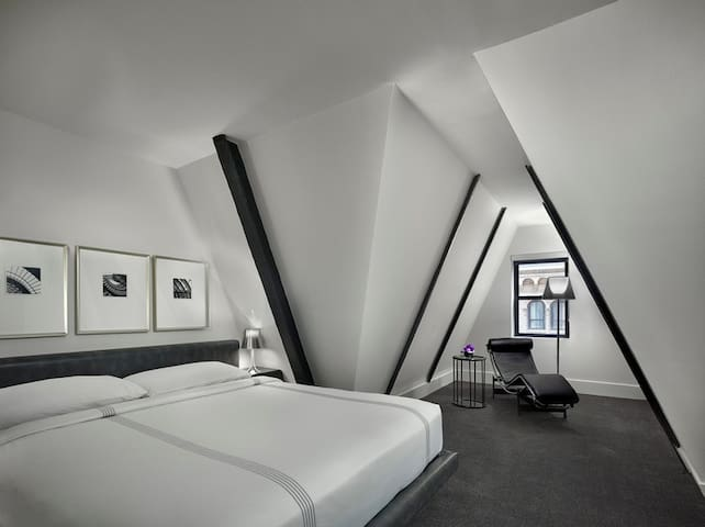 Penthouse Collection Hotel Room at AKA Time Square