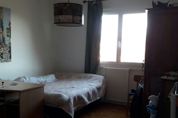 CHAMBRE PRIVEE VUE SUR MONTAGNE - Gap - Lägenhet