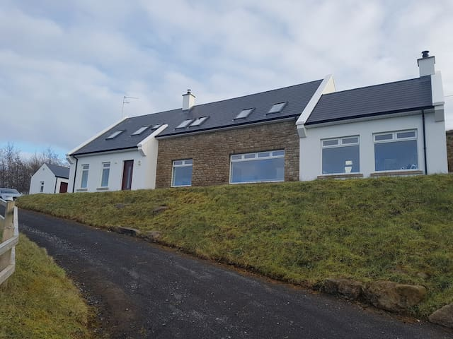 Spacious Donegal Home Lake & Sea Views Every Room