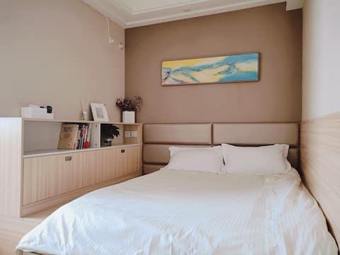 未来像素『全屋定制家具』榻榻米温馨日式格调大床房
