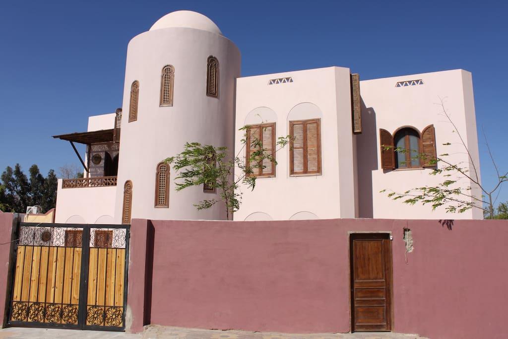 Exterior of Residence Arabesque