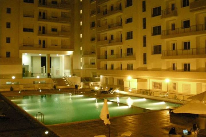 Appartement moderne avec piscine - Agadir