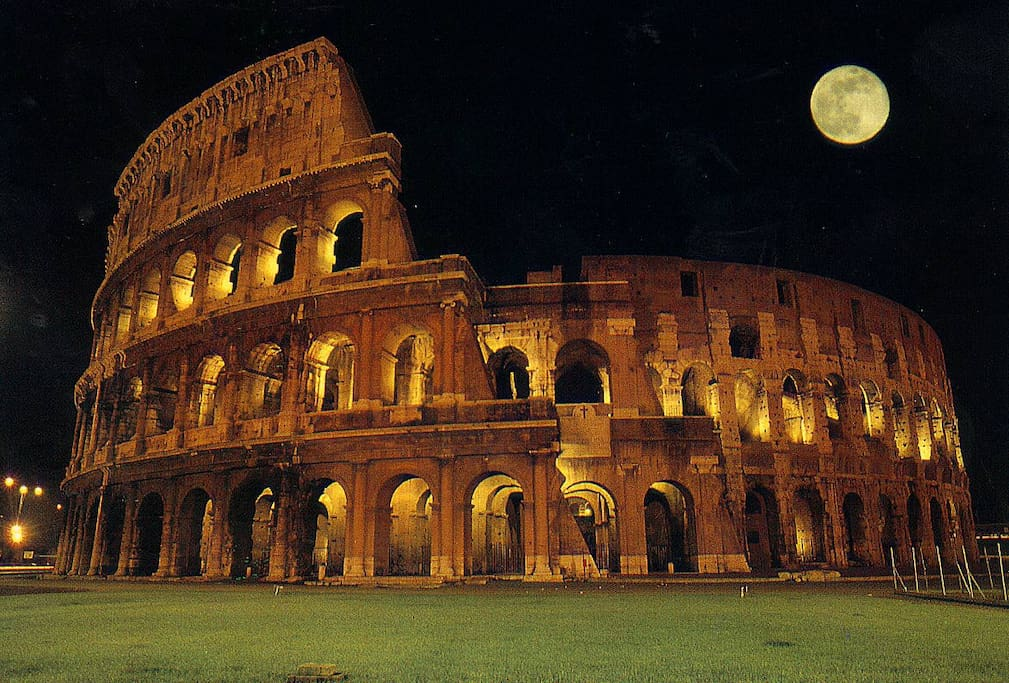 ...the charming, astonishing view of the Colosseum with only 10 minutes walking!