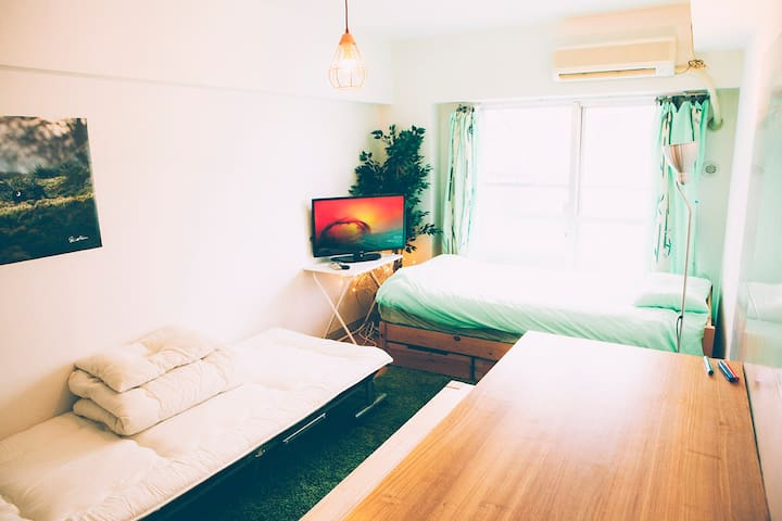 T7 → *Private type house for 4 Guests* in Shinjuku - ชินจูกุ - อพาร์ทเมนท์
