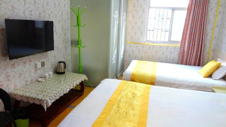 Nanjing Shi汤山农家乐平静旅馆独立房间