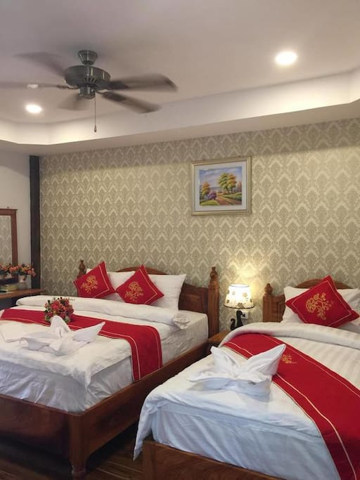 Triple Room with Terrace River View