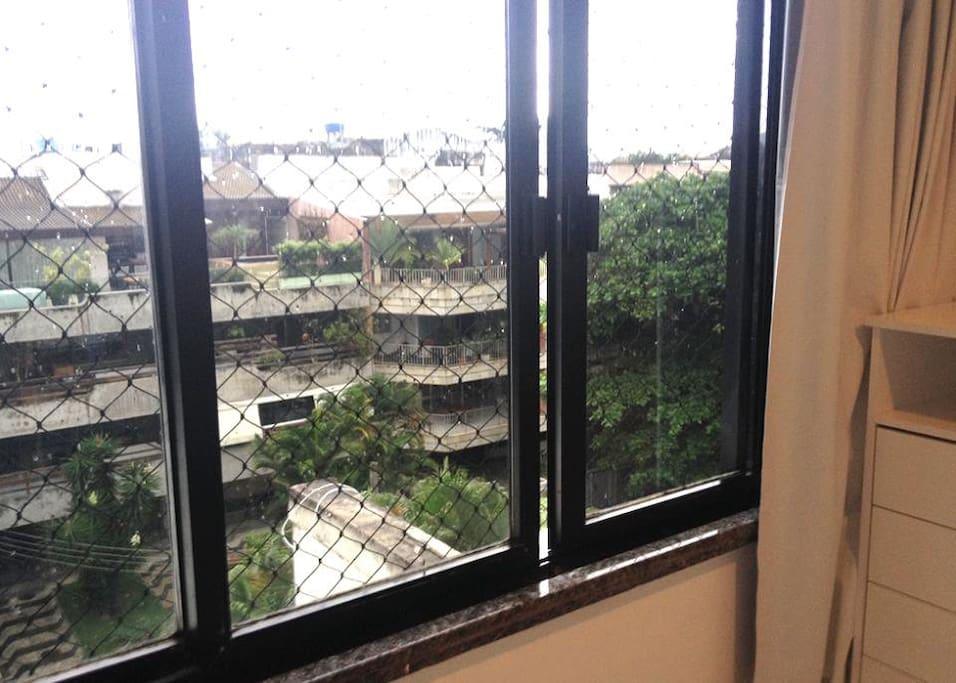 bedroom's window
