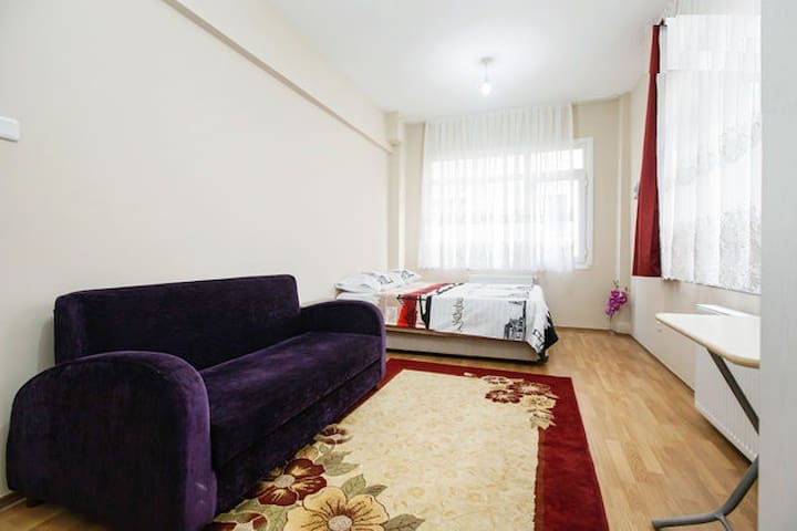 Spacious Room for 4 people! -Room Q - Istanbul - Appartement