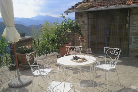 Olives Terrace, near Bagni di Lucca - Benabbio - Apartment - 2