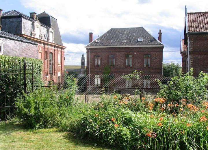 Gite rural near Valenciennes. Chez Céleste, 120 m2