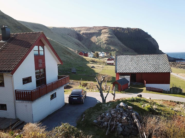 Big apartment, only 30 min from the famous puffins