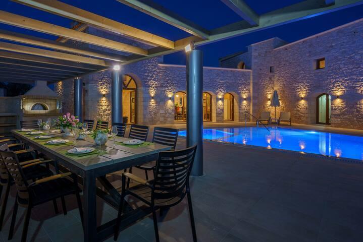 Deluxe Villa in Rethymno Area - Asteri - Casa de campo