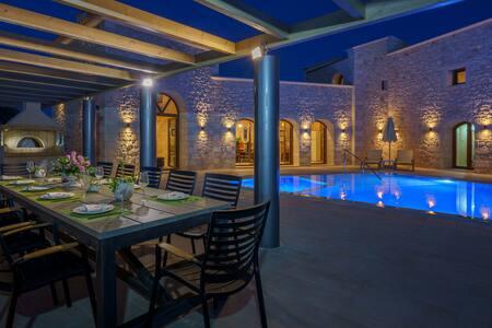 Deluxe Villa in Rethymno Area - Asteri