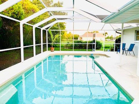 Villa Oasi tropicale con piscina riscaldata