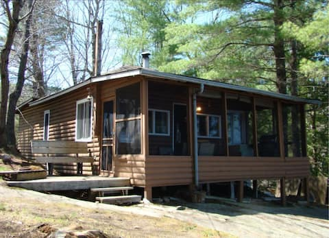 Big Gull Lake - cabin right on the water