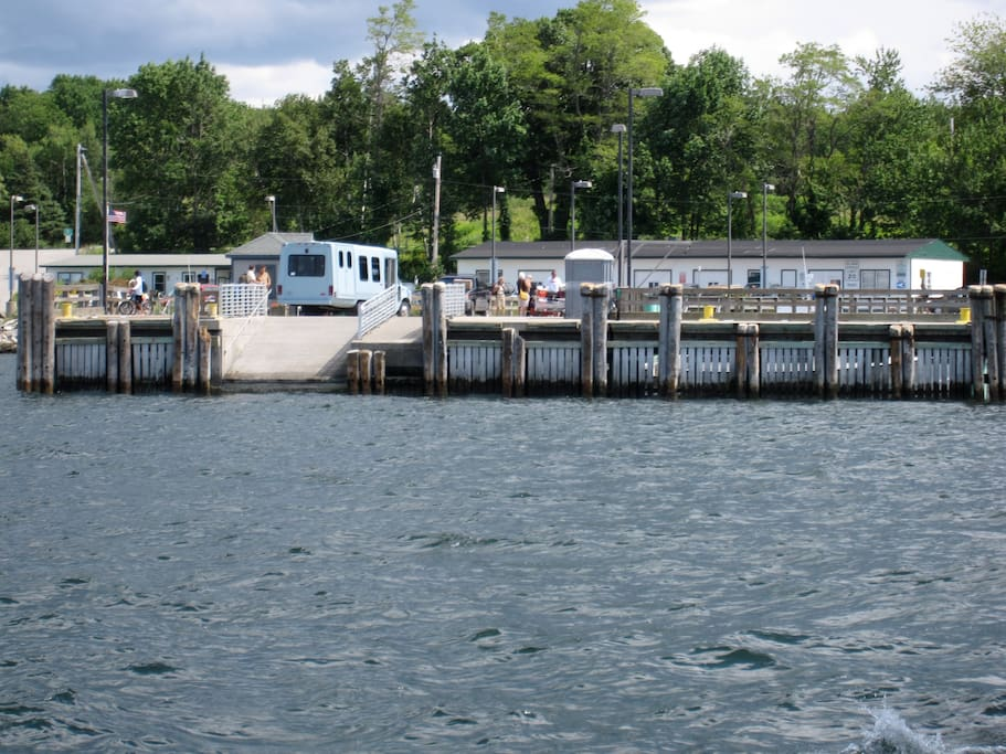 Ferry Landing at Long Island