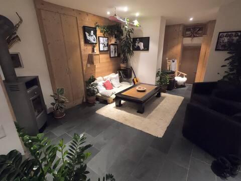 Gemütliches 2,5-Zimmer-Apartment in Monstein