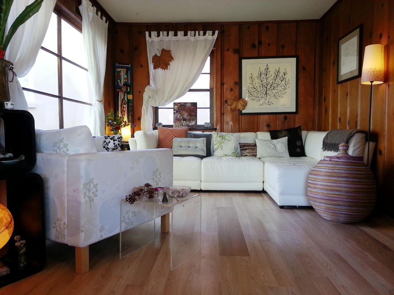 Le living room...