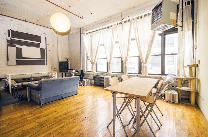 Lively loft! - Brooklyn - Loft