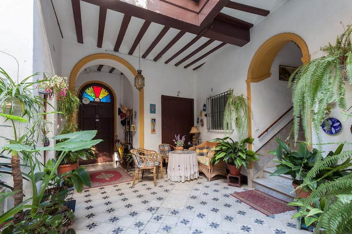 Central Typical Andalusian house - Jerez de la Frontera - Apartemen
