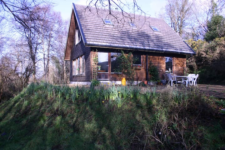 Westport,Co. Mayo Knappagh Snug - woodland retreat - Knappaghmore - Rumah